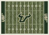 South Florida Bulls College Home Field Area Rug
