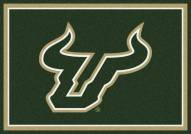 South Florida Bulls College Team Spirit Area Rug
