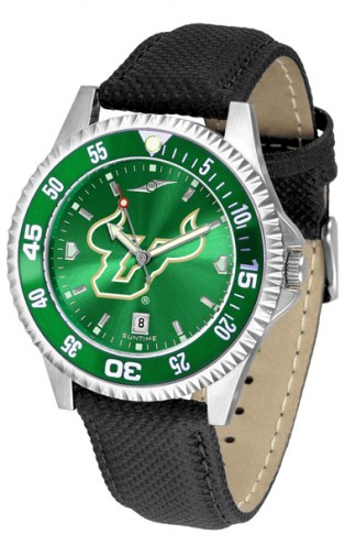 South Florida Bulls Competitor AnoChrome Men's Watch - Color Bezel