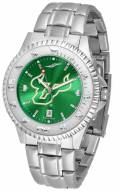South Florida Bulls Competitor Steel AnoChrome Men's Watch