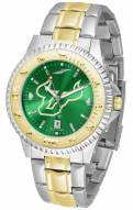 South Florida Bulls Competitor Two-Tone AnoChrome Men's Watch
