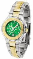 South Florida Bulls Competitor Two-Tone AnoChrome Women's Watch