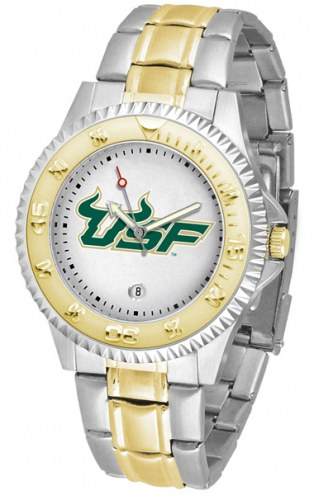 South Florida Bulls Competitor Two-Tone Men's Watch