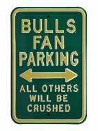 South Florida Bulls Crushed Parking Sign