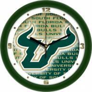 South Florida Bulls Dimension Wall Clock