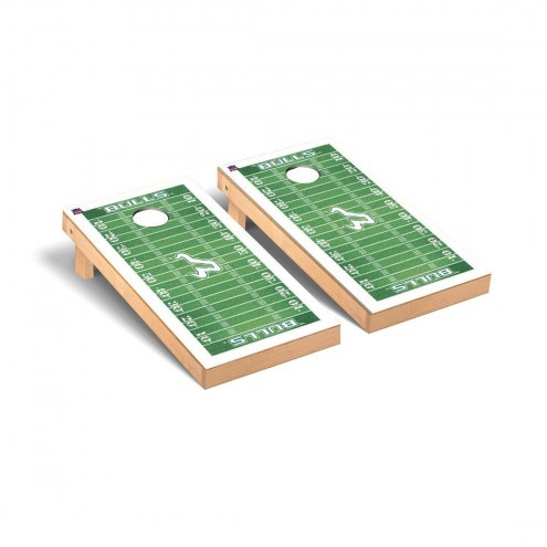 South Florida Bulls Football Field Cornhole Game Set