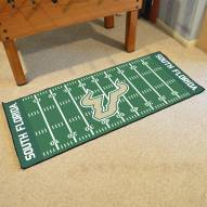 South Florida Bulls Football Field Runner Rug