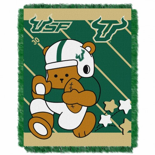 South Florida Bulls Fullback Baby Blanket