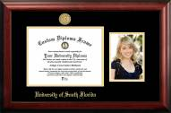 South Florida Bulls Gold Embossed Diploma Frame with Portrait