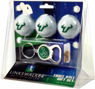 South Florida Bulls Golf Ball Gift Pack with Key Chain