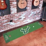 South Florida Bulls Golf Putting Green Mat
