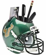 South Florida Bulls Green Schutt Football Helmet Desk Caddy