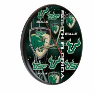 South Florida Bulls Digitally Printed Wood Clock