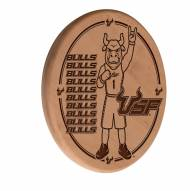 South Florida Bulls Laser Engraved Wood Sign