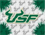 South Florida Bulls Logo Canvas Print