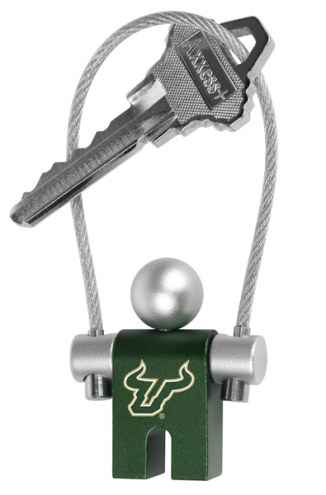 South Florida Bulls Jumper Keychain