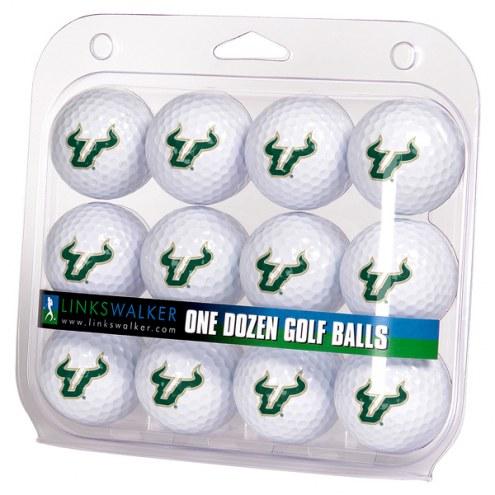 South Florida Bulls Dozen Golf Balls