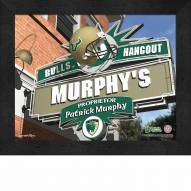 South Florida Bulls 11 x 14 Personalized Framed Sports Pub Print