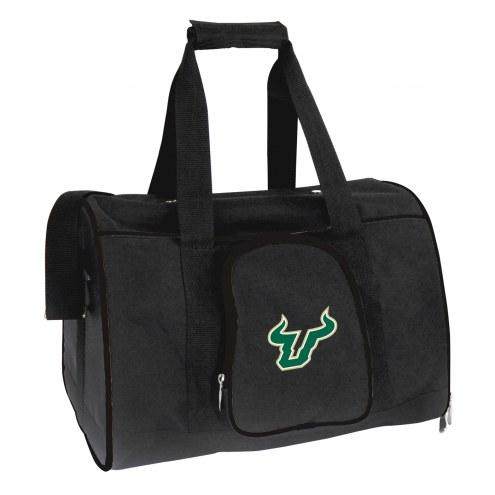 South Florida Bulls Premium Pet Carrier Bag