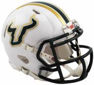 South Florida Bulls Riddell Speed Mini Collectible White Football Helmet