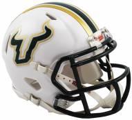 South Florida Bulls Riddell Speed Mini Collectible White Football Helmet