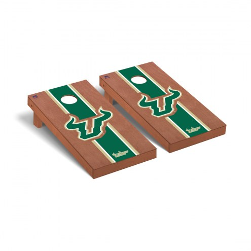 South Florida Bulls Rosewood Stained Cornhole Game Set