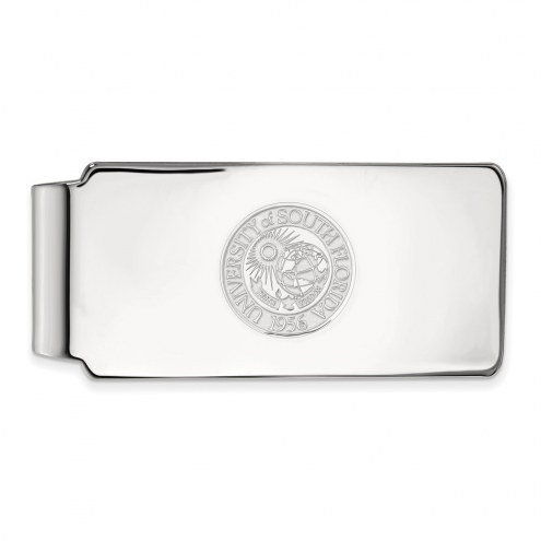 South Florida Bulls Sterling Silver Crest Money Clip
