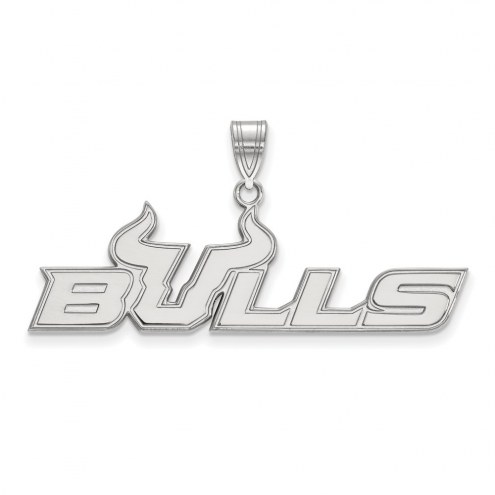 South Florida Bulls Sterling Silver Large Pendant