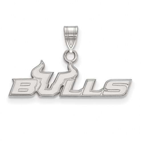 South Florida Bulls Sterling Silver Small Pendant