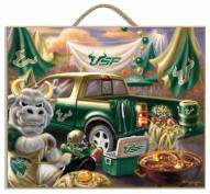 South Florida Bulls Tailgate Plaque