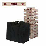 Southeast Missouri State Redhawks Giant Wooden Tumble Tower Game
