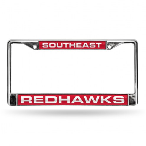 Southeast Missouri State Redhawks Laser Chrome License Plate Frame