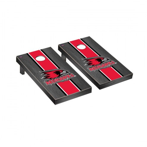 Southeast Missouri State Redhawks Onyx Stained Cornhole Game Set