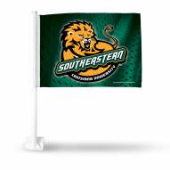 Southeastern Louisiana Lions Car Flag