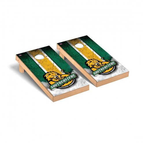 Southeastern Louisiana Lions Mini Cornhole Set