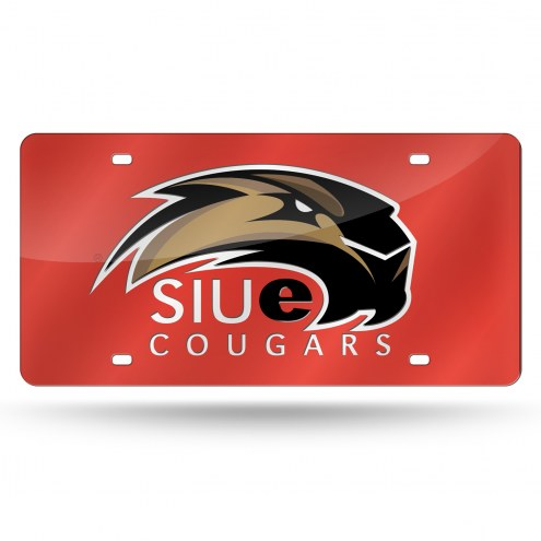 Southern Illinois Edwardsville Cougars Laser Cut License Plate