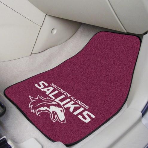 Southern Illinois Salukis 2-Piece Carpet Car Mats
