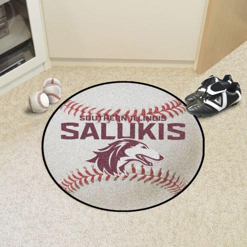 Southern Illinois Salukis Baseball Rug