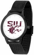 Southern Illinois Salukis Black Mesh Statement Watch
