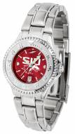 Southern Illinois Salukis Competitor Steel AnoChrome Women's Watch