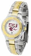 Southern Illinois Salukis Competitor Two-Tone Women's Watch