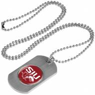 Southern Illinois Salukis Dog Tag
