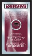 Southern Illinois Salukis Fight Song Mirror