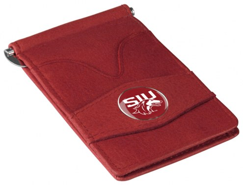 Southern Illinois Salukis Garnet Player's Wallet