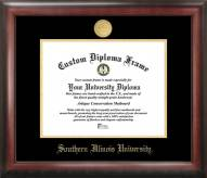 Southern Illinois Salukis Gold Embossed Diploma Frame