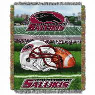 Southern Illinois Salukis Home Field Advantage Throw Blanket