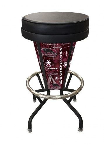Southern Illinois Salukis Indoor/Outdoor Lighted Bar Stool