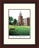Southern Illinois Salukis Legacy Alumnus Framed Lithograph