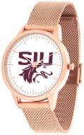 Southern Illinois Salukis Rose Mesh Statement Watch