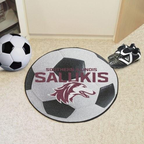 Southern Illinois Salukis Soccer Ball Mat